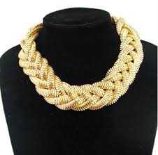 big gold necklace set images Fashion gold chain big necklaces jpg