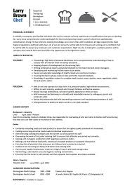 Culinary Arts Resume Sample by Chef Resumes Template Billybullock Us