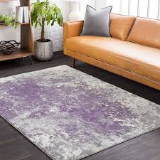 Purple And Black Area Rugs Williston Forge Candelaria Abstract Medium Gray Purple Area