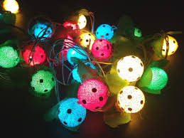 diwali decorative light multicolor ball led rice light bulb 11