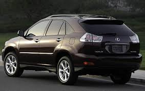 2009 lexus rx 350 information and photos zombiedrive