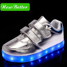 gold light up sneakers kids nike light up shoes black silver