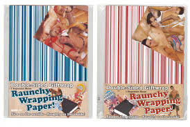 sided wrapping paper raunchy wrap paper outside raunchy on the inside