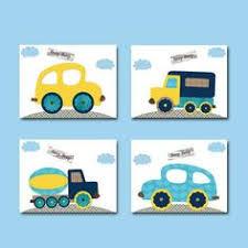 Car Nursery Decor Vintage Car Nursery Baby Boy Nursery Decor By Sweetlittlebarn