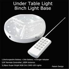 wholesale led under table lights aliexpress com buy 10pcs lot rechargeable portable under table