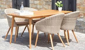 salon de jardin haut de gamme resine tressee salon de jardin rétro en bois et rotin 1 table 4 fauteuils confort