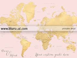Oceans Map Custom Quote World Map With Countries Us States Canadian