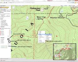 Magellan Route Map by Using Caltopo With Hps Maps