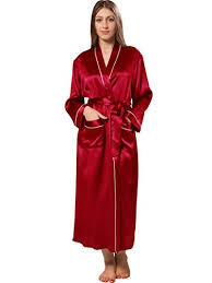 robe de chambre soie ellesilk femmes kimono longue en soie femmes sortie de bain