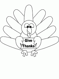 coloring page graceful turkey for coloring free printable pages