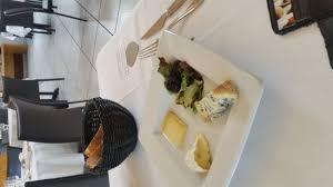 gevaudan cuisine entrée picture of le calice du gevaudan restaurant banassac