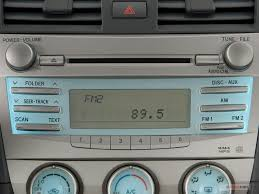 toyota camry 2007 audio system 2008 toyota camry interior u s report