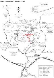mt lemmon hiking trails map weatherford trail 102 hiking arizona hikearizona com