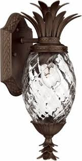 Discount Outdoor Wall Lighting - porch light fixtures plantation pineapple sconce in copper bronze