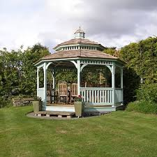 white gazebo octagon wood gazebos country gazebos