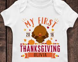 Thanksgiving Shirts For Toddler Boy Baby Raglan Etsy