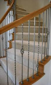 Replace Stair Banister Replace Wooden Baluster With Iron Balusters