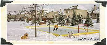 Backyard Hockey Rink by Hockey Accessories U2013 Tagged
