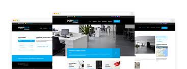 web design home based business website design for essex based cleaning company deepblue by impact