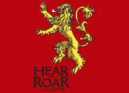 house lannister hear me roar t shirt house lannister official game of thrones t