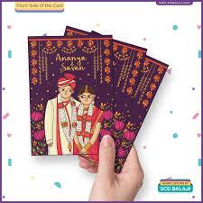Creative Indian Wedding Invitations Scd Balaji Quirky U0026 Creative Indian Wedding Invitations