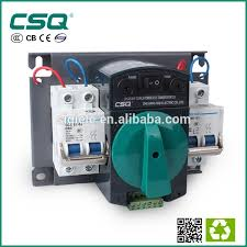 hycq5 63h mcb type automatic power changeover change over switch