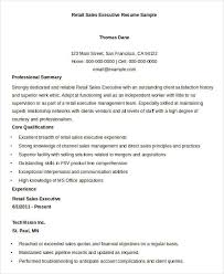 free executive resume sales executive resume resume of automobile sales executive free