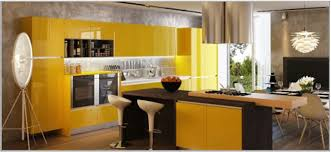 Yellow Kitchen Theme Ideas Images Of A Bar Decorated With Wall Paper Office Loversiq Modern