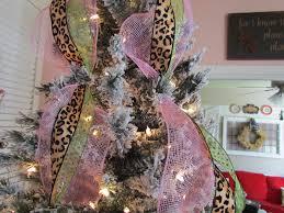 mesh ribbon ideas ribbon on christmas tree decorating ideas theres no place like