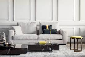 Fendi Living Room Furniture by Marble Coffee Table
