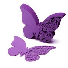 Purple Butterfly Decorations Purple Butterfly Place Cards Online Purple Butterfly Place Cards