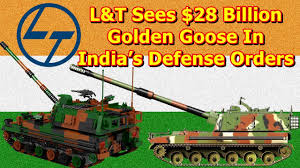 larsen u0026 toubro sees 28 billion golden goose in india u0027s defense