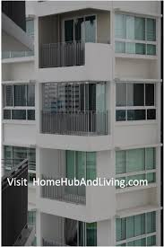 balcony curtain improve your balcony compound more hygiene than before reduce