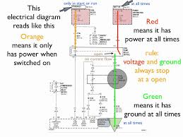 how to read an electrical diagram lesson 1 throughout electrical