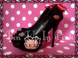 betty boop heels betty boop