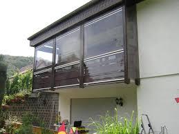 balkon wetterschutz rollfenster