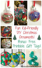 easy kid friendly diy ornaments diy