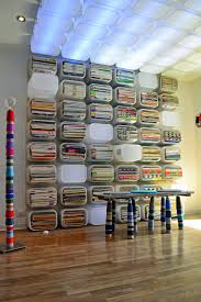 Ikea Wall Storage by Trofast Studio Shelves And Ceiling Lights All Made From Toy