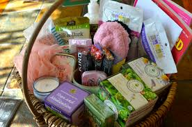 chagne gift basket world cancer day healing gift basket