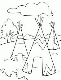 native american coloring pages printable intended to encourage in