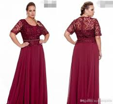 plus size burgundy bridesmaid dresses burgundy plus size of the dresses with sleeve