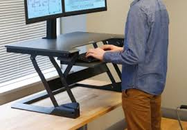 Executive Stand Up Desk by Notsitting Com Sit Stand Desks Standing Desks And Treadmills