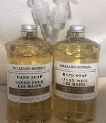 spiced chestnut soap williams sonoma spiced chestnut soap 16 oz each ebay