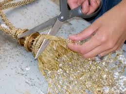How To Make A Beaded Chandelier Beading A Chandelier Hgtv