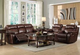 Reclining Living Room Furniture Sets Homelegance Marille Reclining Sofa Set Polished Microfiber