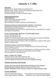 No Job History Resume by Resume Work Resume Cv Cover Letter
