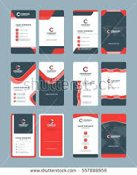 surprising double sided business card template illustrator