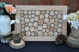wedding guest sign in book wedding guest book alternative rustic wood wedding