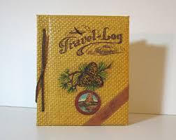 Rustic Leather Photo Album Vintage Rustic Leather Album Etsy