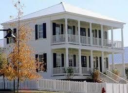 plantation home plans narrow lot plantation home plan 9740al architectural designs